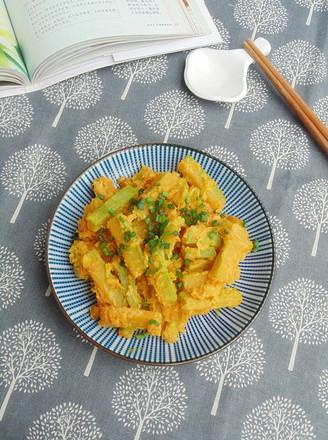 咸蛋黄焗南瓜的做法