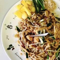 泰式炒河粉 Pad  Thai