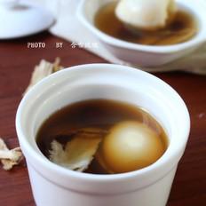 当归红枣鸡蛋汤