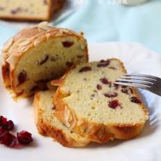 蔓越莓炼乳奶油蛋糕