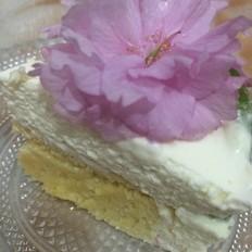 花慕斯蛋糕
