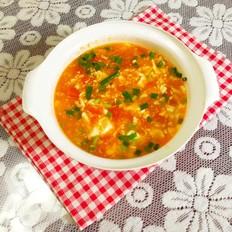 西红柿豆腐羹