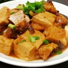 青蒜豆酱笃豆腐