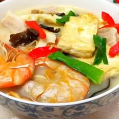 三鲜豆腐煲