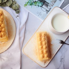日式榴莲豆乳蛋糕