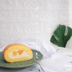 胖胖哒芝士奶油芒果卷
