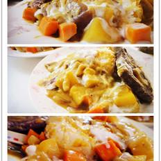 熔岩椰浆咖喱牛扒饭