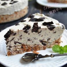 巧克力冰激淋蛋糕