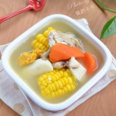 玉米淮山鲫鱼汤