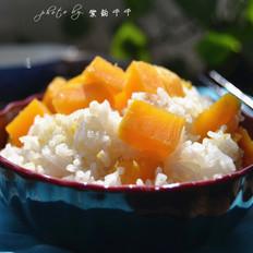 红薯大米饭