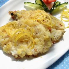 柠香烤银鳕鱼
