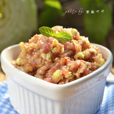猪肉白菜水饺馅