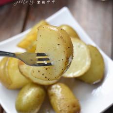 黑椒橄榄油烤土豆