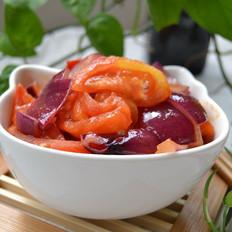 洋葱炒西红柿