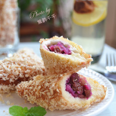 广东紫薯面包角