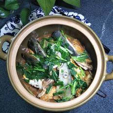 豆腐焖鱼头