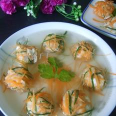 鸡肉绣球汤