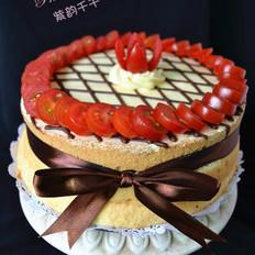 法式奶油霜蛋糕