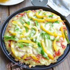 米饭培根披萨