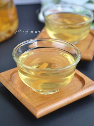 蜂蜜陈皮茶的做法
