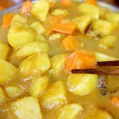 咖喱土豆胡萝卜