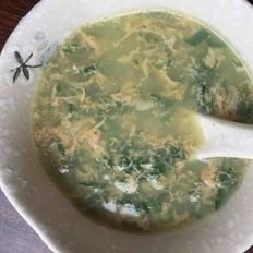 艾叶鸡蛋汤