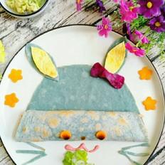萌到舍不得吃了,超可爱的小兔子蛋饼,宝宝太喜欢啦
