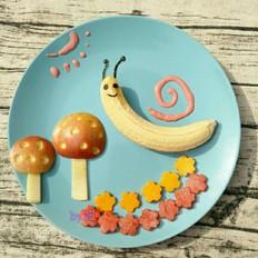 超级可爱的水果蜗牛
