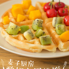 酸奶水果松饼