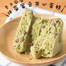 清新快手 | 抹茶蜜豆夹心蛋糕