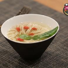 菊花豆腐汤——《茜你一顿饭》最美素斋