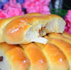燕麦红豆沙排包