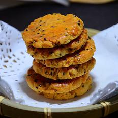 椰香黑芝麻酥饼