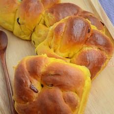 南瓜蔓越莓老式面包