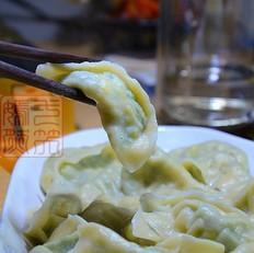 韭菜素馅饺子