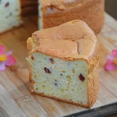 炼乳蔓越莓戚风蛋糕