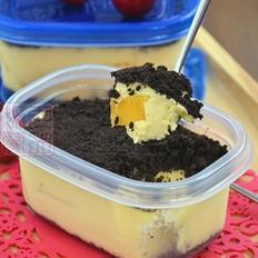 芒果慕斯盒子蛋糕