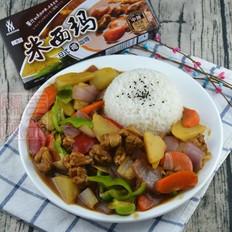霸王超市|咖喱鸡肉饭