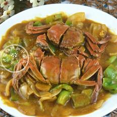 霸王超市 泰式咖喱蟹