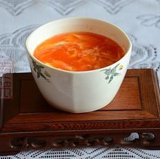 番茄酱鸡蛋汤