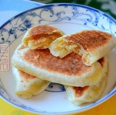西式鸡肉松饼