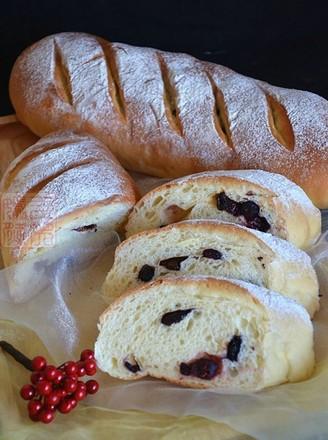 综合果干面包的做法