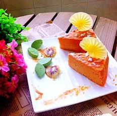 红菜头轻乳酪蛋糕