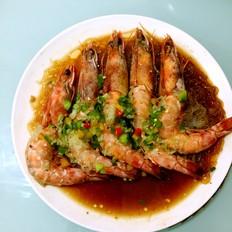 蒜蓉粉丝蒸大明虾