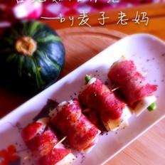 杏鲍菇培根卷