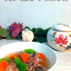 莴笋胡萝卜炖排骨