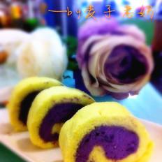 紫薯小山卷