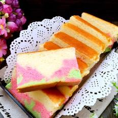 三色长崎蛋糕