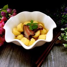 土豆炖腊肉