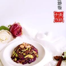 五彩紫米炒饭